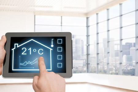 changing the temperaure in a house with climate control automation on ipad