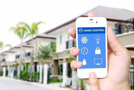 Home Automation Installation Smart Phone app
