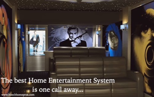 The Best Home Entertainment System is one call away...