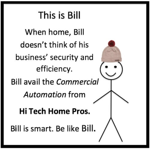 Be like Bill Commercial Automation