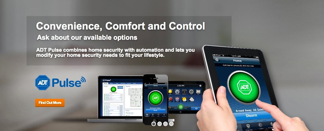 adt autorized dealer combines home security with home autiomation to fit  your lifestyle